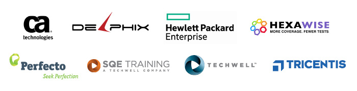 Sponsors of the STAREAST 2017 Virtual Conference include CA Technologies, Delphix, Hewlett Packard Enterprise, Tricentis, Perfecto Mobile,  SQE Training, and TechWell