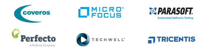 Sponsors of the STAREAST 2019 Virtual Conference include Coveros, Micro Focus, Parasoft, Perfecto, TechWell, and Tricentis