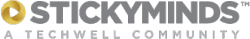 Stickyminds logo